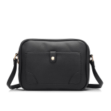 Purchase 2016 Pu Leather Shoulder Sling Bag Female Messenger Bag Black Online