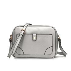 2016 Pu Leather Shoulder Sling Bag Female Messenger Bag Silver Best Price