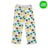 2016 S S Womens 100 Cotton Knit Pants Pajama Friends Lgr M South Korea