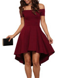 Women S Strapless Mini Dress Burgundy Wine Red Burgundy Wine Red For Sale