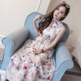 Who Sells Women S Korean Style Floral Pattern Sleeveless Maxi Skirt No 2 No 2 The Cheapest