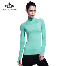 Where Can You Buy 2016 Women Sportswear Yoga Shirts Full Sleeve Running Shirt Green Fy006 Intl