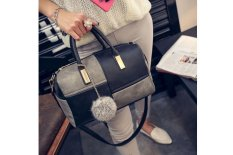 Where Can I Buy 2017 Autumn And Winter New Female Package Europe And The United States Tide Stitching Ladies Handbag Shoulder Oblique Cross Hit The Color Stereotypes Package Intl