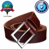 Cheap 2017 Cowhide Belt Top 100 Cow Genuine Leather Men Belts For Men Fashion Pin Buckle Male Strap Belt Brown Xxs Xxl Intl