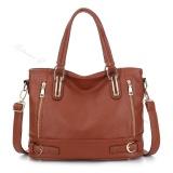 Sale 2017 Fashion Designer Brand Women Pu Leather Handbags Ladies Shoulder Bags Tote Bag Female Retro Vintage Messenger Bag(Brown) Intl China