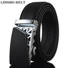 Buy 2017 Hot Real Leather Belt Luxury Belt For Men New Fashion Designer Mens Belt 110 130Cm Black Automatic Buckle Waistband Kb 81 Intl Lingho Belt