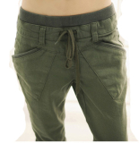 Discount Korean Style Harlan Female Plus Sized Cotton Women S Pants Pants Army Green Oem On China