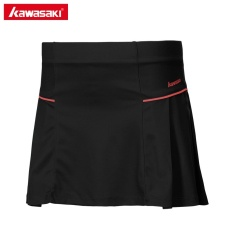 Kawasaki Tennis Skirt Knitted Badminton Skorts With Safety Pants Sports Clothing Sk 172707 Black Intl Lowest Price
