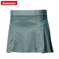 Compare Kawasaki Tennis Skirt Knitted Badminton Skorts With Safety Pants Sports Clothing Sk 172707 Grey Intl Prices