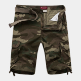 Compare Prices For Casual Summer Multi Pocket Tooling Shorts
