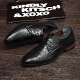Low Cost 2017 New Arrival Spring Luxury Brand Men Oxfords Shoes High Quality Business Derby Dress Shoes Intl