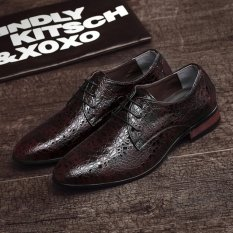 Get Cheap 2017 New Arrival Spring Luxury Brand Men Oxfords Shoes High Quality Business Derby Dress Shoes Intl
