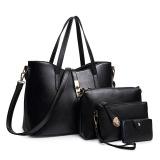 Price Ladies Europe Fashion Leather Hadbag Black Oem Online