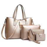 Ladies Europe Fashion Leather Hadbag Tyrant Gold Lower Price