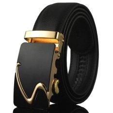 2017 New Fashion Genuine Leather Men Belt Designer Automatic Metal Buckle Luxury Strap Kb 83A Intl Lingho Belt Discount