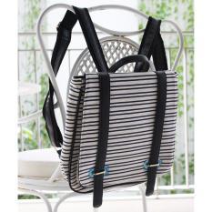 Buy 2017 New Fashion Stripes Backpacks Canvas Women Backpack Sch**L Bag For Teenagers Ladies G*Rl Back Pack Black Stripes Intl Online Singapore