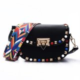 Discount 2017 New Korean Version Of Liu Nail Package Lady Color Nail Ribbon Shoulder Messenger Bag Candy Color Leisure Packet (Black) Intl Oem On China