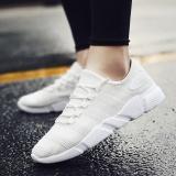Buy 2017 New Light Running Shoes For Men Breathable Outdoor Sport Shoes Summer Cushioning Sneakers Lelaki Berjalan Kasut White Intl Cheap On China