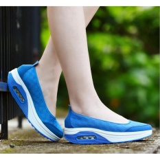 Purchase 2017 New Shoes And Fashion Shoes Casual Shoes Soled Shoes Women S Shoes Sponge Cake Suitable For Spring Summer Autumn Blue Intl