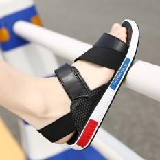 Sale Stylish Leather Men Shoes Non Slip Breathable Shoes Men S Sandals Black Upgraded Version Black Upgraded Version Oem