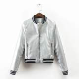 How Do I Get European And American Gold Spring New Style Short Paragraph Jacket Bomber Jacket