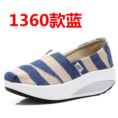 Compare Korean Style Spring Summer Breathable Casual Shoes 1360 Blue Prices