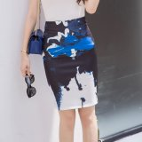 Buy Korean Style Spring And Autumn Female Stretch One Step Skirt Cheap China