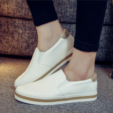How To Get Loafers Leather Spring And White Shoes White White