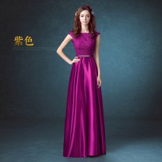 For Sale Women S Long Red Gown Purple Purple