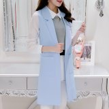 Price Korean Style Spring And Summer New Style Sleeveless Vest Sky Blue China