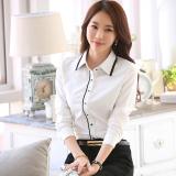 Sale Casual White Elegant Slim Fit Top White Shirt Online On China