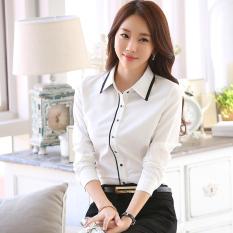 Casual White Elegant Slim Fit Top White Shirt Oem Discount