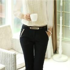 Buy Korean Style Slim Fit Slimming Skinny Women S Pants Women S Pants Black Black On China