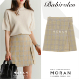 Best Rated Women S Korean Style All Match High Waist Split Irregular Skirt