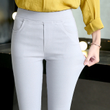 Price Comparisons For 2017 Summer Ladies Outer Wear Tight Feet Pant S*xy Trouser