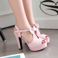Women S Butterfly High Heel Casual Shoes Black Slip Bottom Black Slip Bottom China
