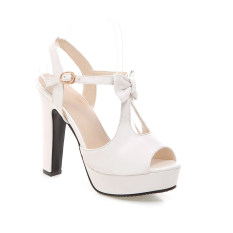Women S Butterfly High Heel Casual Shoes White White Price Comparison