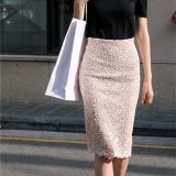New Style Lace Long Section Of Slim Fit Spring Skirt Half Length Skirt Summer Promo Code