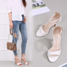 How To Get S*xy Female Semi High Heeled Open Toed Sandals Women S Shoes Pink