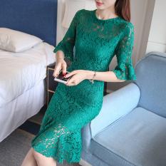 Summer New Style Elegant Slim Fit Half Sleeved Green Best Price