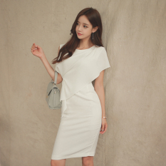 Review Debutante Ol Elegant Round Neck Sleeveless Dress On China