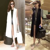 Sale Women S American And European Style Long Jacket White On China