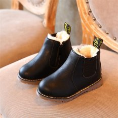 Price 2017 Winter Children Kids Warm Boots Snow Baby Toddler Boys Girls Faux Fur Shoes Black Intl Not Specified