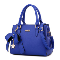 Price Women S Stylish Large Capacity Butterfly Knot Flower Messenger Bag Bow Female Bag Sapphire Blue Color Bow Female Bag Sapphire Blue Color On China