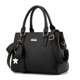 Compare Women S Stylish Large Capacity Butterfly Knot Flower Messenger Bag Bow Handbag Black Bow Handbag Black Prices