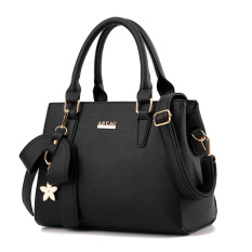 Sale Women S Stylish Large Capacity Butterfly Knot Flower Messenger Bag Bow Handbag Black Bow Handbag Black Oem Cheap