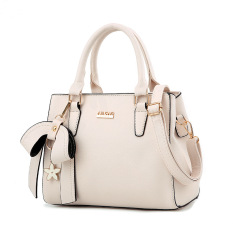 Price Comparisons Women S Stylish Large Capacity Butterfly Knot Flower Messenger Bag Bow Handbag Off White Color Bow Handbag Off White Color
