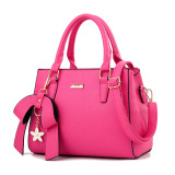 Buy Women S Stylish Large Capacity Butterfly Knot Flower Messenger Bag Bow Handbag Rose Color Bow Handbag Rose Color Oem Online