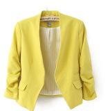 Sale Women S Short Suit Coat Yellow Yellow Oem Original