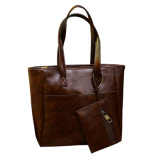 Purchase 2Pcs New Autumn Winter Women Pu Leather Large Handbag Retro Mini Clutch Bag Intl Online
